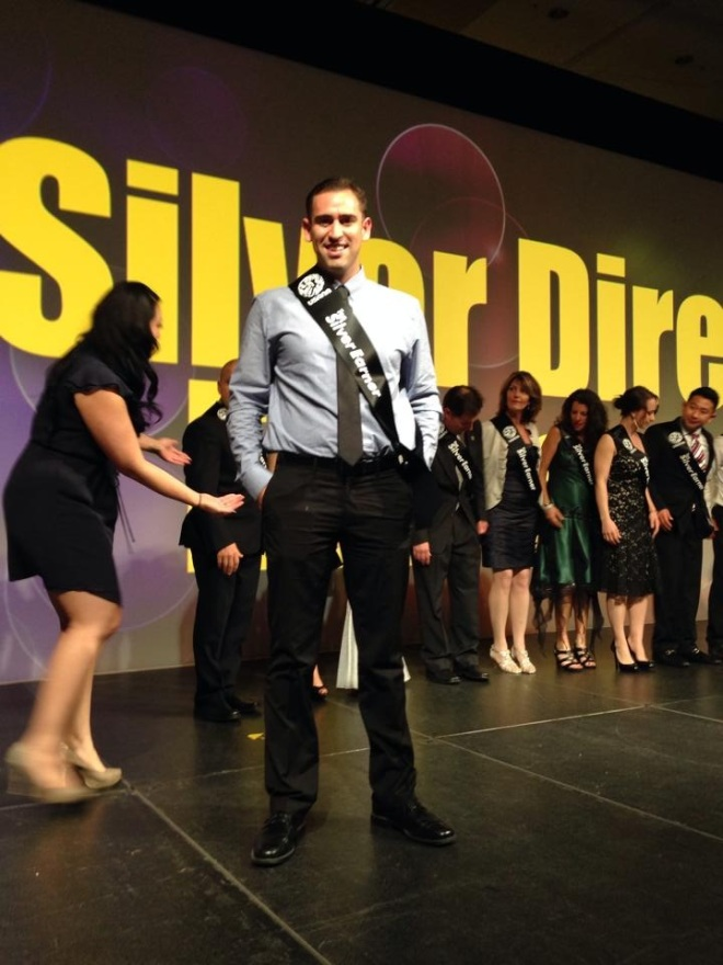 Getting recognized as a top Silver Director at the time before my promotion
